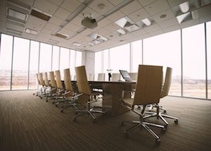 business finance boardroom